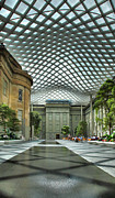 Reynolds Photo Posters - Kogod Courtyard II Poster by Steven Ainsworth