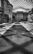 D.w Prints - Kogod Courtyard III Print by Steven Ainsworth