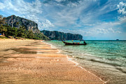 Shore Digital Art - Koh Lanta Beach by Adrian Evans