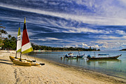 Interface Prints - Koh Samui Beach Print by David Smith