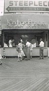 Kohr Bros Frozen Custard Atlantic City Nj Print by Joann Renner