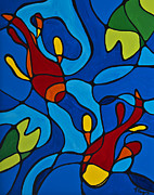 Sale Prints Prints Prints - Koi Fish Print by Sharon Cummings