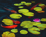 Elaine Farmer - Koi Pond