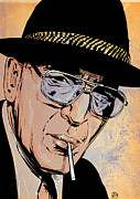 Featured Drawings Prints - Kojak Print by Giuseppe Cristiano