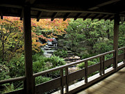 Kobe Photos - Kokoen Garden - Himeji City Japan by Daniel Hagerman