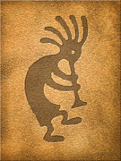 Kokopelli Posters - Kokopelli 1 Poster by Cristophers Dream Artistry
