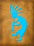 Kokopelli Posters - Kokopelli 2 Poster by Cristophers Dream Artistry