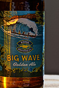 Kona Brewing Posters - Kona Big Wave Golden Ale Poster by Bill Owen