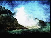 Kona Sea Print by Athala Carole Bruckner