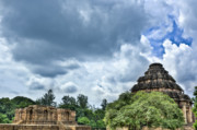 India Photo Acrylic Prints - Konark Sun Temple Acrylic Print by Nila Newsom