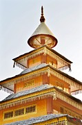 Kondar Devata Temple Print by Kim Bemis