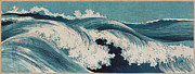 Surf Culture Posters - Konen Uehara Waves Poster by Nomad Art And  Design