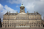 Royal Palace Prints - Koninklijk Paleis in Amsterdam Print by Artur Bogacki