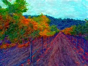 Russian Artist Digital Art - Korbel Vineyards II by Gerhardt Isringhaus