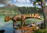 Julius Csotonyi - Koreaceratops...