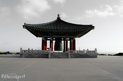 Guinapora Graphics Prints - Korean Friendship Bell Print by Guinapora Graphics