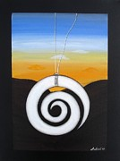 Aotearoa Paintings - Koru by Astrid Rosemergy