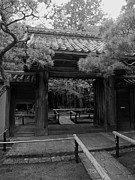 Muted Prints - Koto-in Zen Temple Entrance - Kyoto Japan Print by Daniel Hagerman