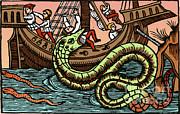 Science Source - Kraken Attacking Ship