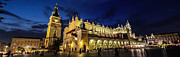 Krakow Prints - Krakow by night Print by Ian Hufton