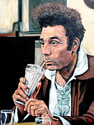 Seinfeld Paintings - Kramer by Tom Roderick