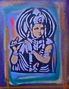 Affirmation Painting Prints - Krishna 2 Print by Tony B Conscious