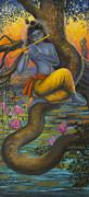Krishna Vasuri Print by Vrindavan Das