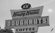 Doughnuts Photo Prints - Krispy Kreme of Roanoke Print by Gia Mate