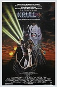 Vintage Movie Posters Art - Krull Poster by Sanely Great