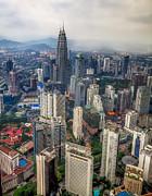 Kuala Lumpur City Print by Adrian Evans