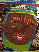 Featured Tapestries - Textiles Originals - Kumasi by Edjohnetta Miller