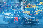 The Strip Framed Prints - Kurt Busch Framed Print by James Marvin Phelps