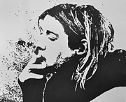 Seattle Digital Art Originals - Kurt Cobain by Paula Sharlea
