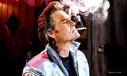Death Proof Framed Prints - Kurt Russell @ Death Proof Framed Print by Gabriel T Toro