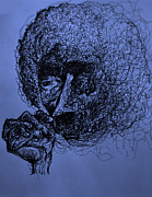 Will Drawings - Kurt Vonnegut by Will  Carlson