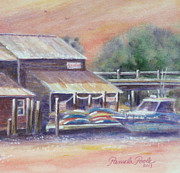 Pamela Poole - Kyaks at Shem Creek...