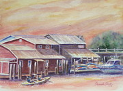 Pamela Poole - Kyaks On Shem Creek