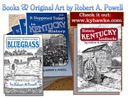Kentucky Mixed Media - Kyhawke.com by Robert A Powell