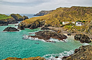 Kernow Framed Prints - Kynance Cove Framed Print by Chris Thaxter