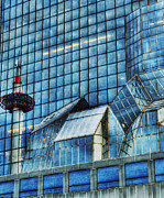 Abstract Photos - Kyoto Train Station by Juli Scalzi