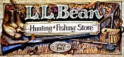 Ll Bean Prints - L. L. Bean Hunting and Fishing Store Since 1912 Print by Tara Potts