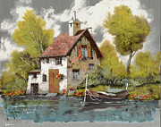 Silver Art - La Barca by Guido Borelli