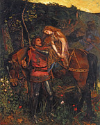 Mercy Art - La Belle Dame sans Merci  by Arthur Hughes