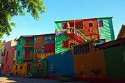 Latino Culture Framed Prints - La Boca Neighborhood in Buenos Aires Framed Print by Jess Kraft