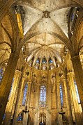 Catalunya Metal Prints - La Catedral Barcelona Cathedral Metal Print by Matthias Hauser