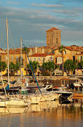 Docked Sailboats Framed Prints - La Ciotat Framed Print by Brian Jannsen