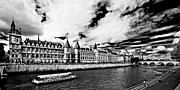 Bateau Framed Prints - La Conciergerie / Paris Framed Print by Barry O Carroll