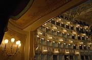 La Fenice Opera Theater Print by Sami Sarkis