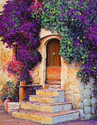 France Doors Painting Prints - La Grange Print by Michael Swanson