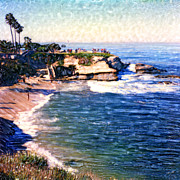 Surf Photos Art Originals - La Jolla Cove by Glenn McNary